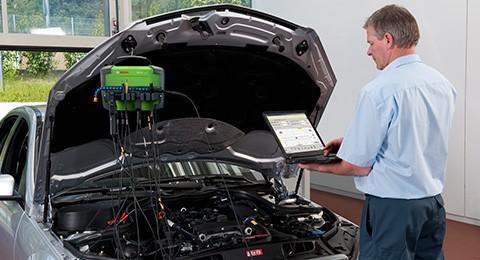 Serviços de reparo e manutenção para sistemas start/stop